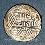 Coins al-Jazira. Ortoquides de Mardin. Ghazi I (637-658H). Dirham 64xH, (Mardin)