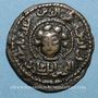 Coins al-Jazira. Ortoquides de Mardin. Nejm ed-Din Alpi (547-572H). Br. Dirham