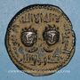 Coins al-Jazira. Ortoquides de Mardin. Nejm ed-Din Alpi (547-572H). Dirham