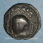 Coins al-Jazira. Zenguides de Mossoul. Qutb al-Din Mawdud (544-564H). Dirham bronze 55(6)H