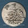 Coins Anatolie. Ottomans. Abd al-Hamid I (1187-1203H). Para 1187H / an 4, Constantinople