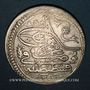 Coins Anatolie. Ottomans. Mahmoud I (1143-68H). Qurush1143H / marque d'atelier : 'ayn-alif, Constantinopl