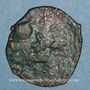 Coins Anatolie. Seljouquides de Rûm. Kaykhusru I (1er règne, 588-595H). Fals bronze