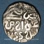 Coins Asie centrale. Horde d'Or. Jani Beg (742-758H).  Dirham 744H, Khwarezm