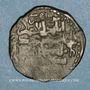 Coins Caucase. Pishkinides. Pishkin II (vers 591-601H). Dirham de bronze, Hahar