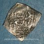 Coins Espagne. Nasrides. Anonyme (8e -9eH). 1/4 dirham , Almeria (?)