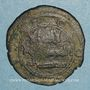 Coins Iraq. Umayyades. Ep. Hisham (105-125H). Fals 120H Wasit