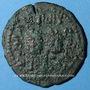 Coins Jazira. Ortoquides de Mardin. Nejm ed-Din Alpi (547-572H). Dirham