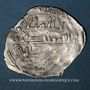 Coins Maghreb. Idrissides. Ibrahim b. al-Qasim (vers 270-290H). 1/2 dirham (?), (al-Basra) (Maroc)