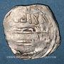 Coins Maghreb. Idrissides. Ibrahim b. al-Qasim (vers 270-290H). Dirham 280 H, al-Basra (Maroc)
