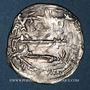 Coins Maghreb. Idrissides. Ibrahim b. al-Qasim (vers 270-290H). Dirham (280H), al-Basra (Maroc)