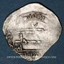 Coins Maghreb. Idrissides. Ibrahim b. al-Qasim (vers 270-290H). Dirham, al-Basra (Maroc)