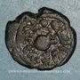 Coins Palestine. Umayyades, vers 115-125H. Fals anonyme à la grenade