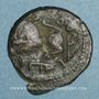Coins Palestine. Umayyades, vers 115-125H. Fals anonyme au lion