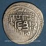 Coins Perse. Timurides. Timur et Mahmoud Jaghatay (vers 792-803H). Tanka