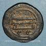Coins Syrie. Abbassides. al-Mansur (136-158H). Fals (157H). Qinnasrin