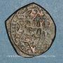 Coins Syrie. Ayyoubides d'Alep. al-Nasir Yusuf II (634-658H). Br. Imitation contemporraine