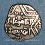 Coins Syrie. Ayyoubides d'Alep. al-Zahir (582-613H).  1/2 dirham (600-613H), (Alep)