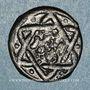 Coins Syrie. Mamlouks bahrites. Abu-Bakr (741-742H).  Fals (7)41H, Damas