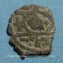 Coins Syrie. Mamlouks bahrites. Muhammad I (3e règne, 709-741H). Br. Fals (73)2H, Damas