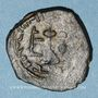 Coins Syrie. Monnayage arabo-byzantin. Umayyades. 'Abd al-Malik (65-86H). Fals au calife debout, Alep