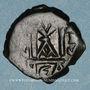 Coins Syrie. Monnayage pseudo-byzantin (638-c.670). Follis, atelier de Naplouse