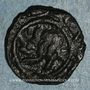 Coins Syrie. Umayyades, vers 130H. Fals, Hims