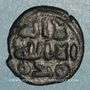 Coins Syrie. Umayyades, vers 75-85H. Fals anonyme