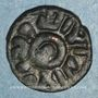 Coins Syrie. Umayyades, vers 80-90 H. Fals anonyme, Hims