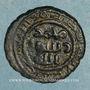 Coins Syrie. Umayyades, vers 80-90H. Fals anonyme, Qinnasrin