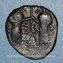 Coins Syrie. Zenguides. Nur al-Din Mahmud (541-569H).  Fals de style byzantin, (Alep)