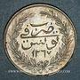 Coins Tunisie. Ottomans. Abdoul Mejid (1255-1277H = 1839-1861). 5 piastres 1267H. Tunis