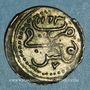 Coins Tunisie. Ottomans. Mahmoud I (1143-1168H). 1/2 kharub 1163H. Tunis