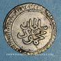 Coins Tunisie. Ottomans. Mahmoud I (1143-1168H).  2 kharub 1153H. Tunis
