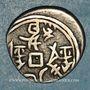 Coins Xin Kiang. Empire Chinois. Kuang-Hsu (1875-1908). 5 fen (12)95H = 1878, Kashghar (trilingue)