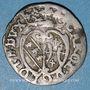 Coins Duché de Lorraine. Charles III (1545-1608). Demi-gros. Nancy (1581-1608)