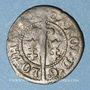 Coins Duché de Lorraine. Charles III (1545-1608). Deux deniers 1581. Nancy