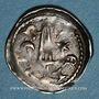 Coins Duché de Lorraine. Ferry III (1251-1303). Denier. Nancy
