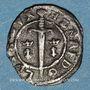 Coins Duché de Lorraine. Henri II (1608-1624). Double denier. Nancy