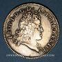 Coins Duché de Lorraine. Léopold (1697-1729). 1/2 léopold d'argent 1724. Nancy