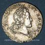 Coins Duché de Lorraine. Léopold (1697-1729). Demi-teston 1718. Nancy