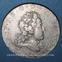 Coins Duché de Lorraine. Léopold (1697-1729). Demi-teston 1720. Nancy