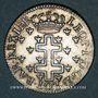 Coins Duché de Lorraine. Léopold (1697-1729). LX deniers 1726. Nancy