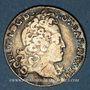 Coins Duché de Lorraine. Léopold (1697-1729). Masson de 12 sous 6 deniers 1728. Nancy
