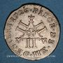 Coins Duché de Lorraine. Léopold (1697-1729). XII deniers 1726. Nancy