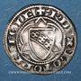 Coins Duché de Lorraine. Raoul (1329-1346). 1/4 gros. Nancy. R ! R ! Variante inédite !