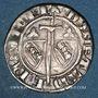 Coins Duché de Lorraine. Raoul (1329-1346). 1/4 gros. Nancy