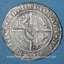 Coins Duché de Lorraine. René I (1431-1453). Demi-gros. Nancy