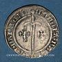 Coins Duché de Lorraine. René I (1451-1453). Demi-gros. Nancy