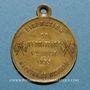 Coins Libération du Territoire - Meurthe-et-Moselle. 1873. Médaille laiton